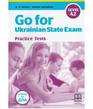 Підручник Go for Ukrainian State Exam Level A2 Student's Book