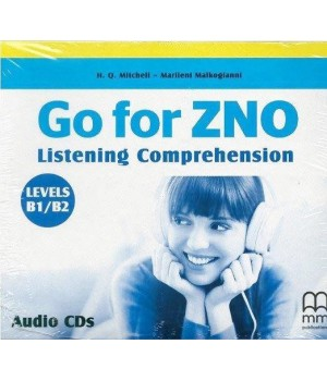 Диск Go for ZNO Listening Comprehension B1/B2 Class CDs