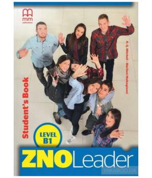 Підручник ZNO Leader for Ukraine B1 Student's Book + CD-ROM