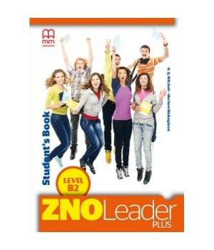 Підручник ZNO Leader Plus for Ukraine B2 Student's Book + CD-ROM