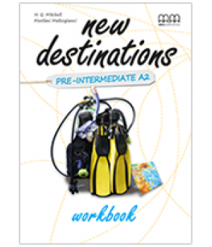 Рабочая тетрадь New Destinations Pre-Intermediate A2 Workbook