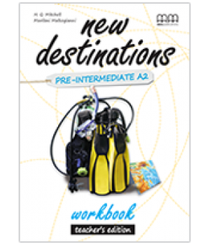 Книга для учителя New Destinations Pre-Intermediate A2 Teacher's Workbook