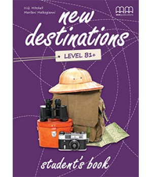 Учебник New Destinations Level B1+ Student's Book with Culture Time for Ukraine