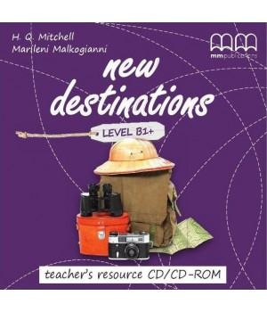 Диск New Destinations Level B1+ Teacher's Resource CD/CD-ROM