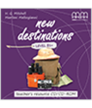 Диск New Destinations Level B1+ Teacher's Resource CD/CD-ROM
