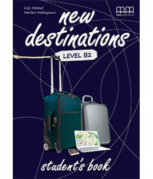 Підручник New Destinations Level B2 Student's Book with Culture Time for Ukraine