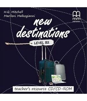 Диск New Destinations Level B2 Teacher's Resource CD/CD-ROM