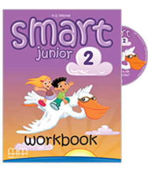 Smart Junior 2 Workbook with CD-ROM
