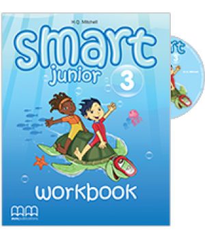 Smart Junior 3 Workbook with CD-ROM