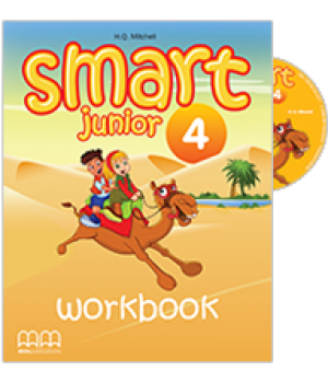 Smart Junior 4 Workbook with CD-ROM