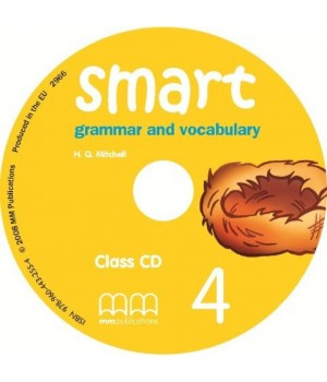Диск Smart Grammar and Vocabulary 4 Class CD