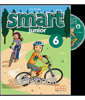 Робочий зошит Smart Junior 6 Workbook with CD-ROM