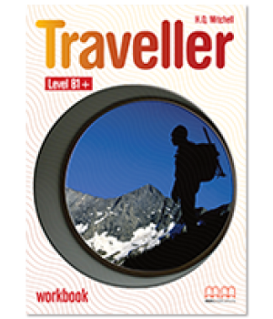 Робочий зошит Traveller Level B1+ Workbook with CD-ROM