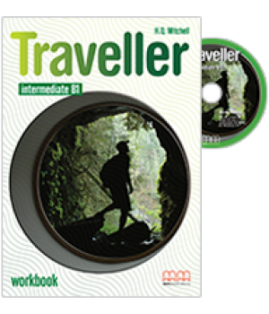 Робочий зошит Traveller Intermediate B1 Workbook with CD-ROM