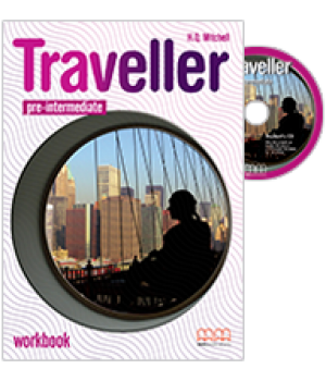 Робочий зошит Traveller Pre-intermediate Workbook with CD-ROM