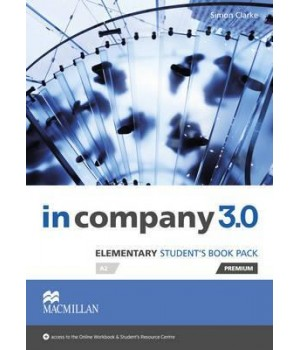 Учебник In Company 3.0 (Third Edition) Elementary Student's Book + online webcode access