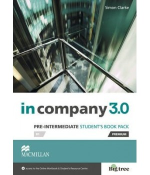 Учебник In Company 3.0 (Third Edition) Pre-Intermediate Student's Book + online webcode access