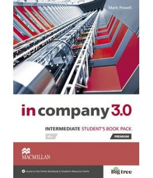 Учебник In Company 3.0 (Third Edition) Intermediate Student's Book + online webcode access