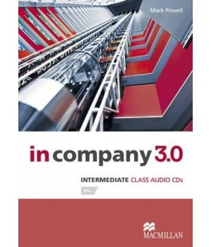 Диски In Company 3.0 (Third Edition) Intermediate Audio CDs