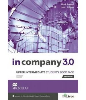 Учебник In Company 3.0 (Third Edition) Upper-Intermediate Student's Book + online webcode access