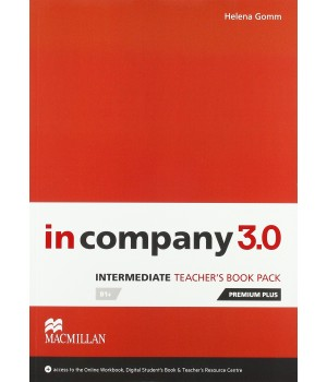 Книга для вчителя In Company 3.0 (Third Edition) Intermediate Teacher's Book + online webcode access