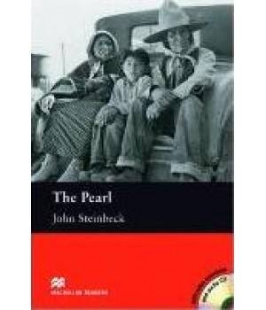 Книга для чтения Macmillan Reader Intermediate The Pearl with Audio CD