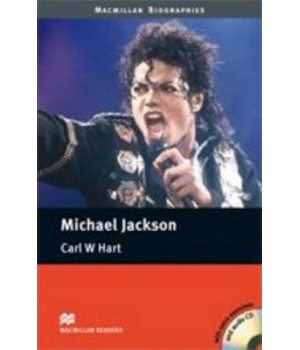 Книга для читання Macmillan Reader Pre-Intermediate Michael Jackson with Audio CD