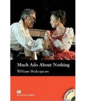 Книга для чтения Macmillan Reader Intermediate Much Ado About Nothing with Audio CD