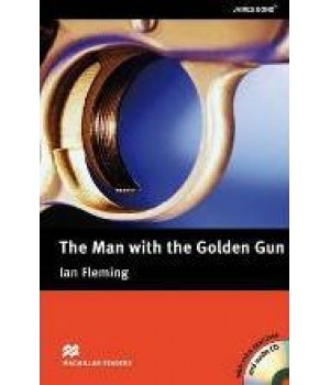 Книга для читання Macmillan Reader Upper Intermediate Man Golden Gun with Audio CD