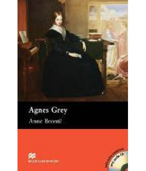 Книга для читання Macmillan Reader Upper Intermediate Agnes Grey with Audio CD