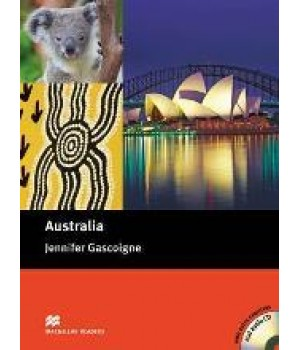 Книга для читання Macmillan Reader Upper Intermediate Australia with Audio CD
