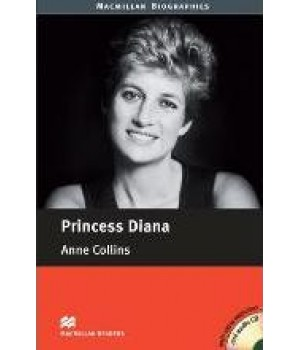 Книга для чтения Macmillan Reader Beginner Princess Diana with Audio CD