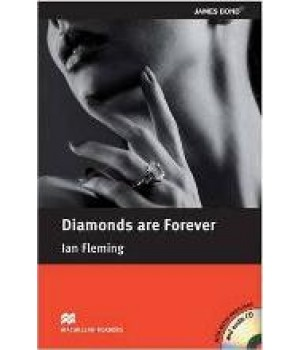 Книга для читання Macmillan Reader Pre-Intermediate Diamonds Are Forever with Audio CD