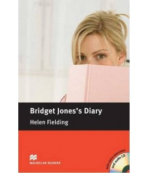 Книга для чтения Macmillan Reader Intermediate Bridget Jone's Diary with Audio CD