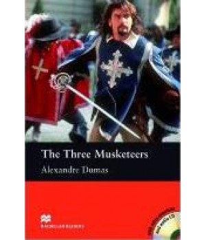 Книга для читання Macmillan Reader Beginner The Three Musketeers with Audio CD