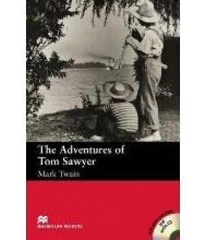 Книга для чтения Macmillan Reader Beginner Adventures of Tom Sawyer with Audio CD