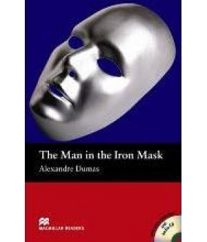 Книга для чтения Macmillan Reader Beginner Man in the Iron Mask, The with Audio CD