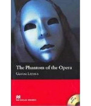 Книга для чтения Macmillan Reader Beginner Phantom Of The Opera, The with Audio CD
