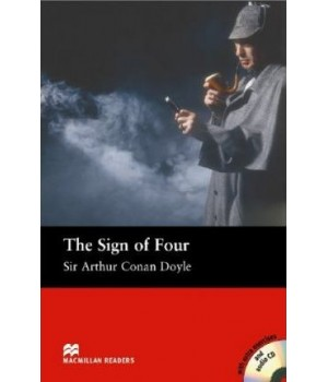 Книга для чтения Macmillan Reader Intermediate Sign of Four, The with Audio CD