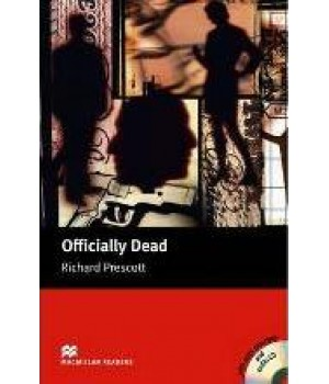 Книга для читання Macmillan Reader Upper Intermediate Officially Dead with Audio CD