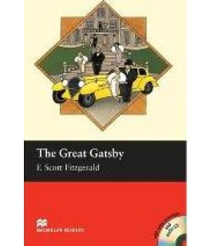 Книга для чтения Macmillan Reader Intermediate Great Gatsby, The with Audio CD
