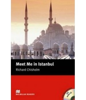 Книга для чтения Macmillan Reader Intermediate Meet Me In Istanbul with Audio CD