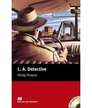 Книга для читання Macmillan Reader Starter L A Detective with Audio CD