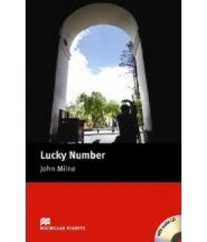 Книга для читання Macmillan Reader Starter Lucky Number with Audio CD
