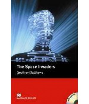 Книга для чтения Macmillan Reader Intermediate Space Invaders, The with Audio CD