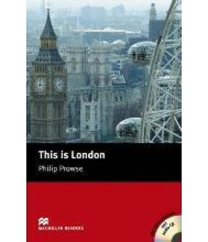 Книга для чтения Macmillan Reader Beginner This is London with Audio CD