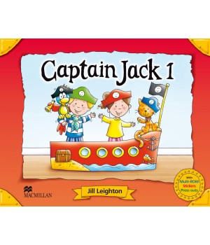 Підручник Captain Jack 1 Pupil's Book + CD Multi-Rom