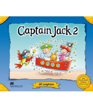 Учебник Captain Jack 2 Pupil's Book + CD Multi-Rom