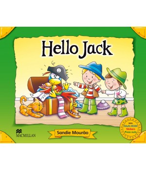 Підручник Hello Jack Pupil's Book + CD Multi-Rom