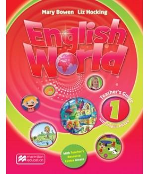 English World 1 Teacher's Book & eBook Pack